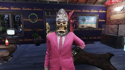 Fallout76「ファスナハトのスカルマスク」