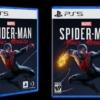 PS5のゲームパッケージデザイン「スパイダーマン」
