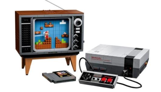 レゴブロック「LEGO Nintendo Entertainment System」のイメージ