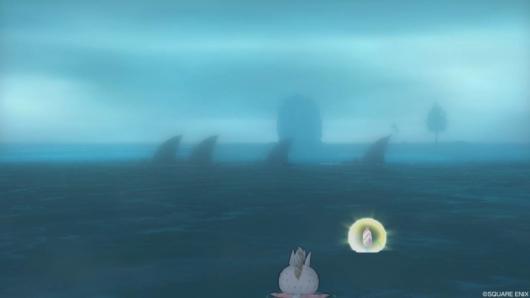 海イベント「キミとサメない夢を」海を泳ぐサメバーン