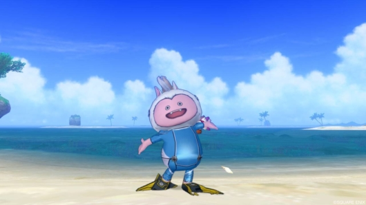 海イベント「キミとサメない夢を」の「サメ・スーツ青」