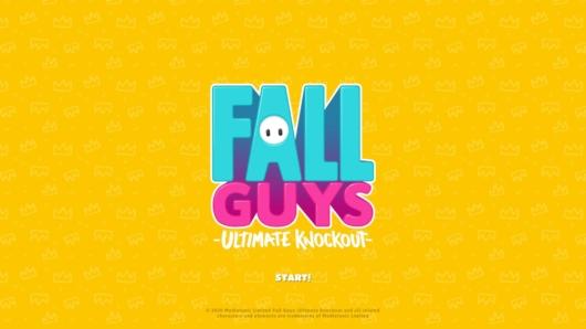 Fall Guysのタイトル画面