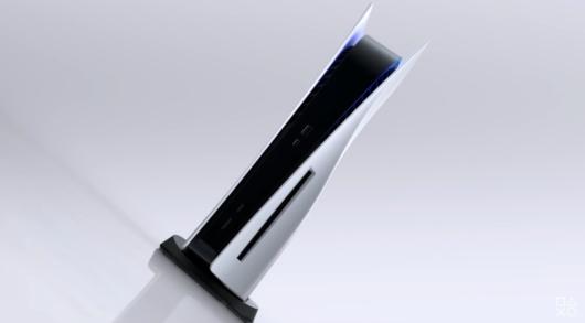 PS5ディスクドライブ付き本体の画像