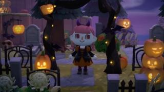 「あつまれ どうぶつの森」秋の無料アップデートのハロウィン衣装