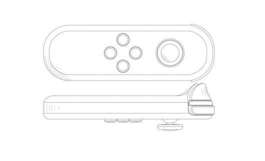 SwitchのJoy-Conの新しい特許