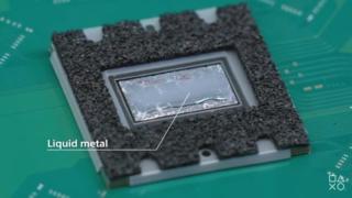 PS5放熱のための液体金属