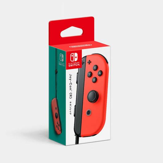 Nintendo Switch Joy-conのネオンレッド