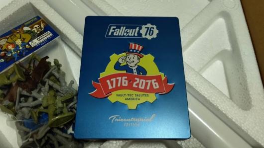 「Fallout 76 Power Armor Edition (パワーアーマーエディション) 」のスチールケース