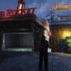 「Fallout76」C.A.M.P.アイテム「レッドロケットのガレージ」に電気を通した様子