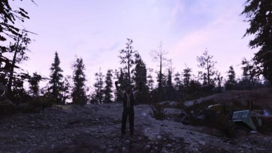 自分の「Fallout76」C.A.M.P.を消したバルカズ