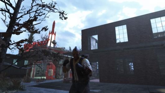 「Fallout76」建設中の新C.A.M.P.