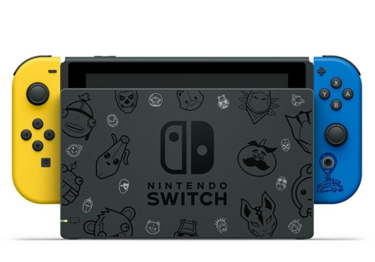 Nintendo Switch:フォートナイトSpecialセットのSwitchドック