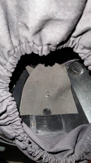 家に届いた「Fallout 76 Power Armor Edition (パワーアーマーエディション) 」のT51パワーアーマーヘルメットの内部