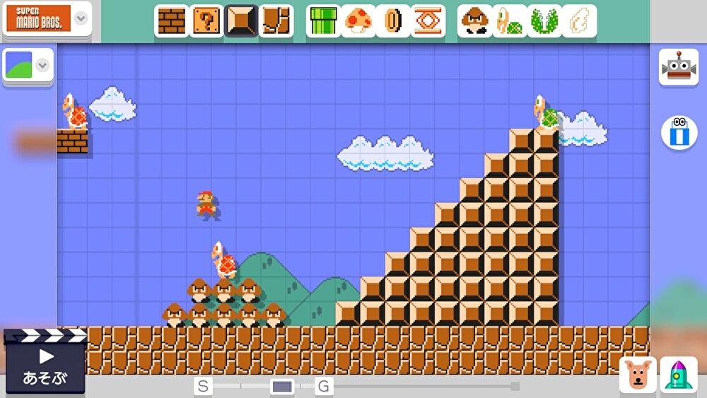 WiiU「スーパーマリオメーカー」のコース制作