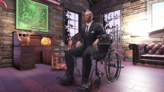 Fallout76「車椅子」に座る