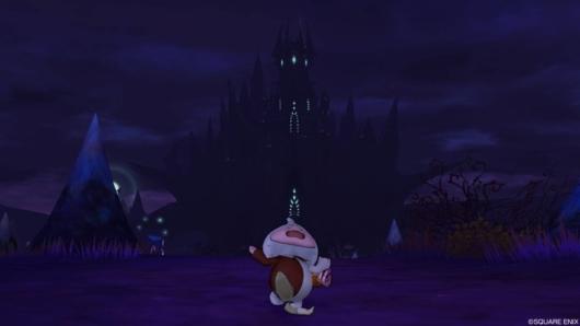 バージョン5.3にある謎の城