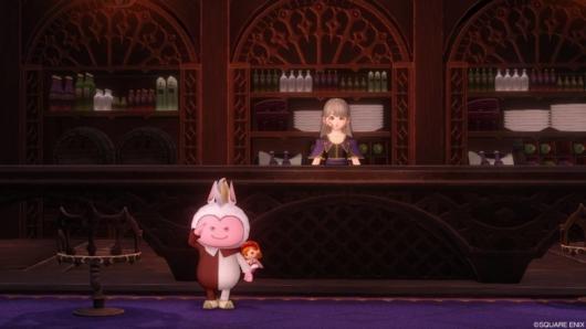 ドラクエ10「魔剣士」職業クエストの酒場内