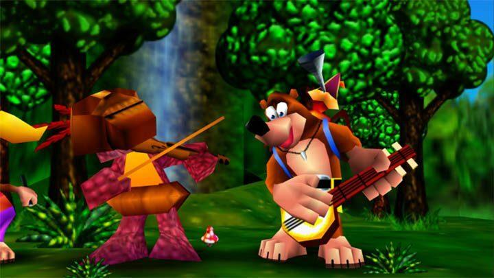 バンジョーとカズーイの大冒険の画像
