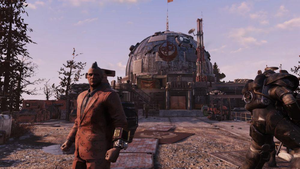 Fallout76「Steel Dawn」アプデ後のATLAS砦