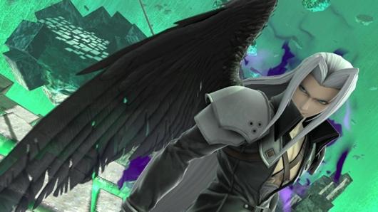 スマブラSP「セフィロス」片翼の姿