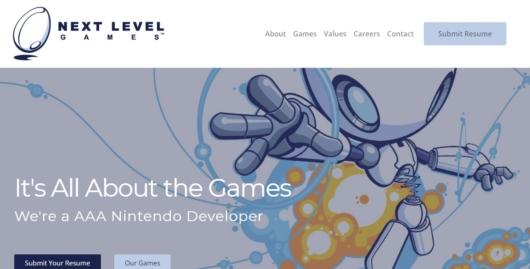 Next Level Gamesの公式サイト