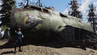 Fallout76「空飛ぶ要塞」設置