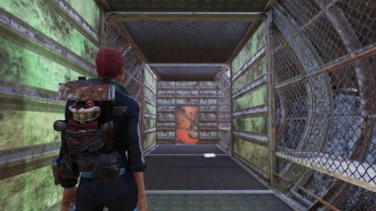 Fallout76「空飛ぶ要塞」内部