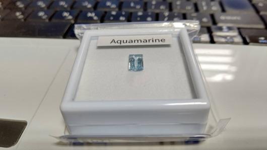 宝石福袋のアクアマリン