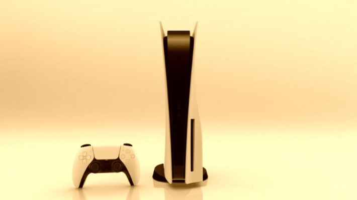 PS5のセピア風画像