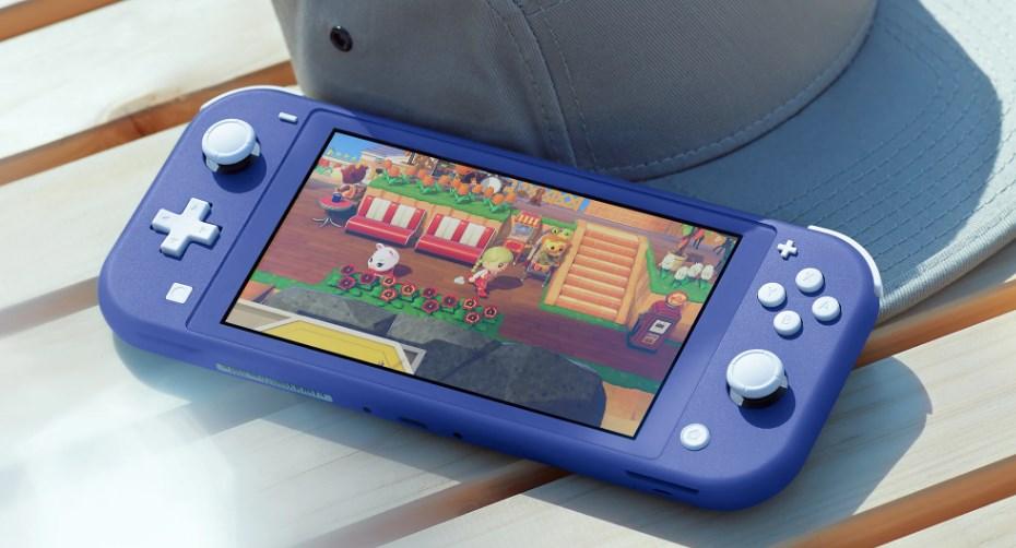 Nintendo Switch Lite新色「ブルー」のイメージ