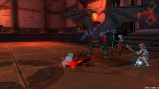 魔剣士の職業クエスト「邪毒のウィーヌム」との戦い