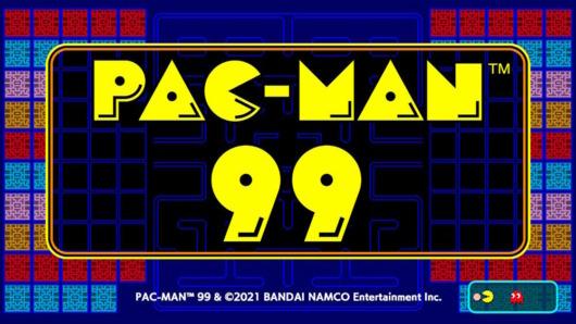 パックマン99のタイトル画面