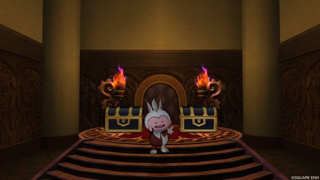 「魔伝のかけら」のおかれている部屋