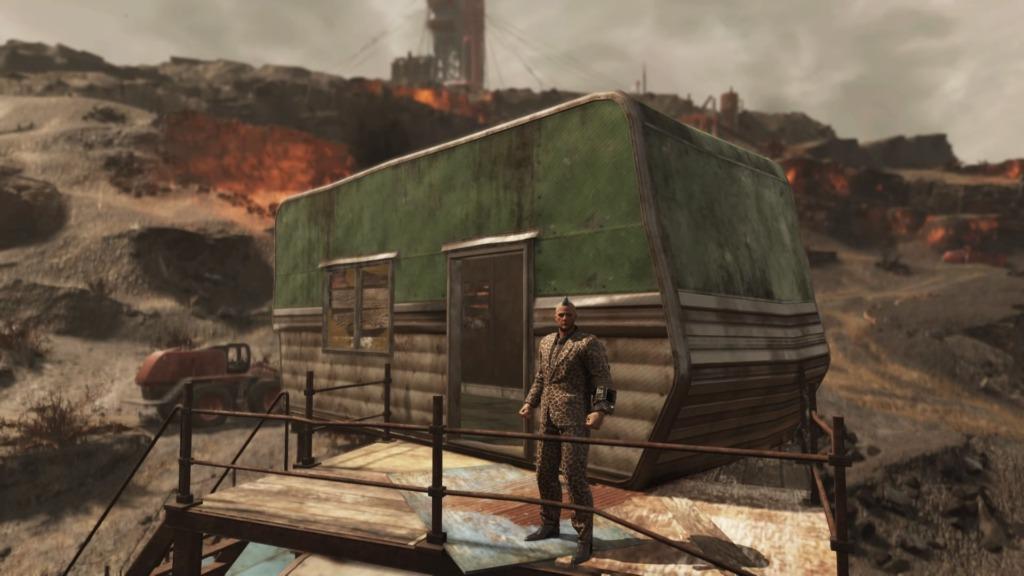 「Fallout76」即席大邸宅の3階