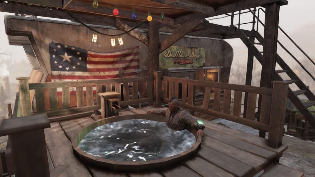 Fallout76「温泉浴場」