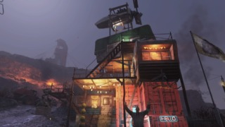 Fallout76ライトを取り付けた「即席大邸宅」