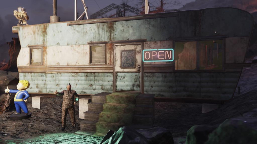 Fallout76「トレーラーハウス」外観