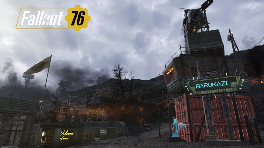 Fallout76「即席大邸宅」を使ったCAMP