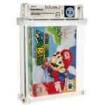 オークションサイトに出品された「スーパーマリオ64」