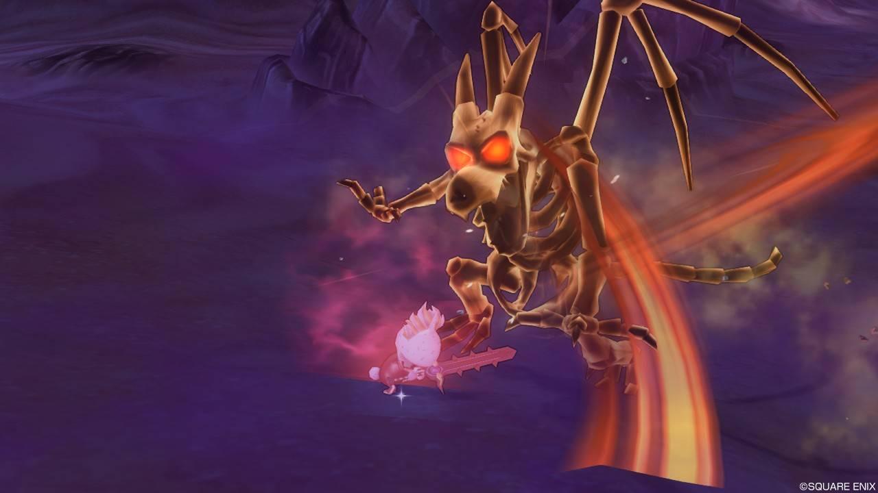 レベル上げでドラゴンゾンビ強に真やいばくだきを放つ瞬間