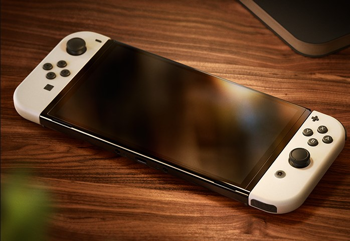 NintendoSwitch(有機ELモデル)本体の写真